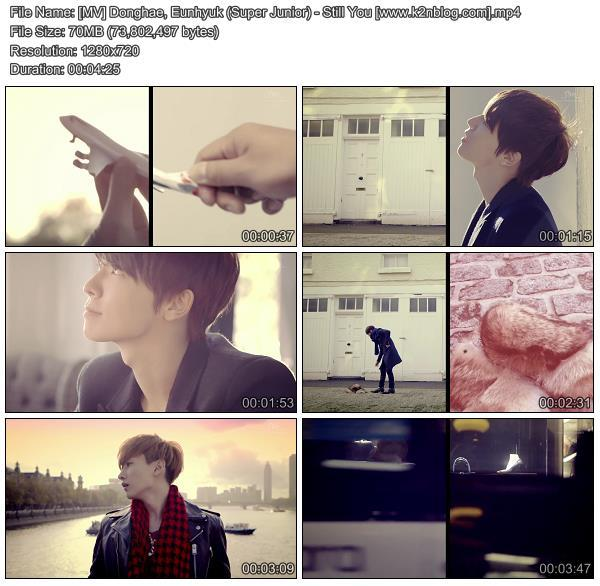 [MV] Donghae & Eunhyuk (Super Junior)   Still You [HD 720p Youtube]