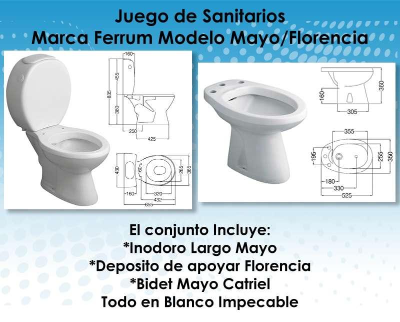 Juegos De Baño Ofertas:Juego De Sanitarios De Baño Ferrum Mayo Florencia Oferta $ 530254