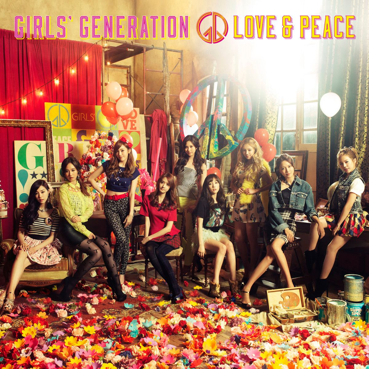 (Album) Girls' Generation - LOVE&PEACE (Japanese)