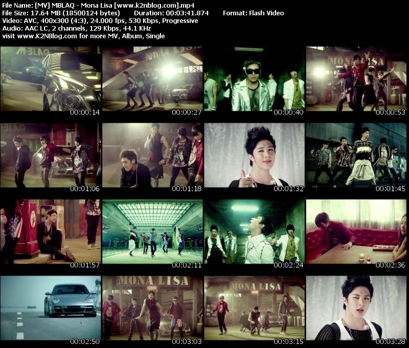 MBLAQ - Mona Lisa MV Thumbnail